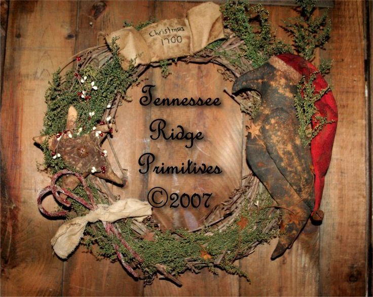 Primitive Christmas Craft Ideas Part - 36: Primitive Grungy Christmas Crafts | Primitive Christmas Craft Patterns
