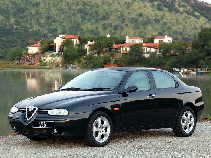 Alfa Romeo 156 ZA-spec 2002–2003 wallpaper