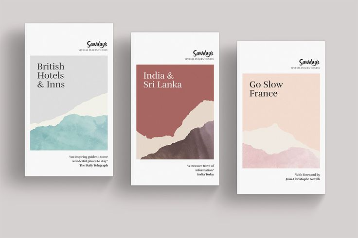 New Logo and Identity for Sawday's by Damon Charles