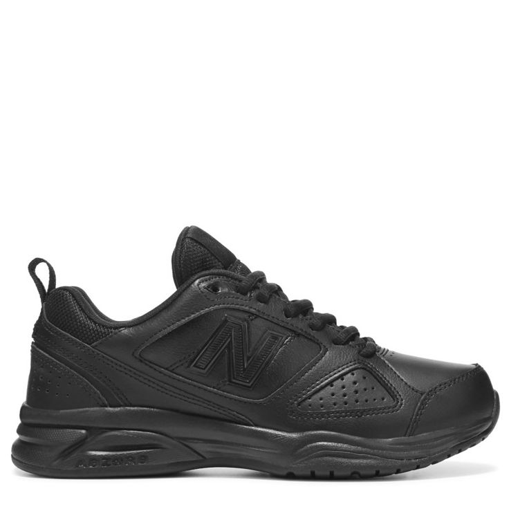 New Balance Women's 623 V3 Medium/Wide/X-Wide Sneakers (Black Leather) - 10.5 2E