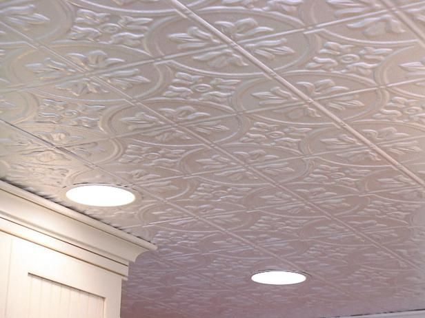 Tin or pressed plastic ceiling tiles can give a room an elegant, unique look. Use these step-by-step instructions on DIYNetwork.com to install tin ceiling tiles in your home.