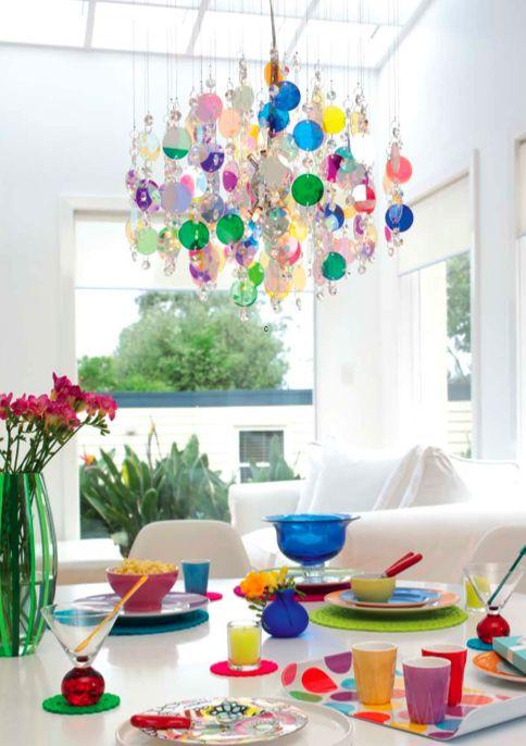 ChicDecó: Candelabros modernos Modern chandeliers