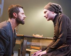 Richard Armitage and Anna Madeley in The Crucible, at the Old Vic