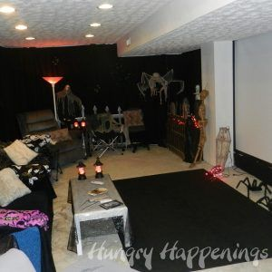 Decorate Basement For Halloween Party