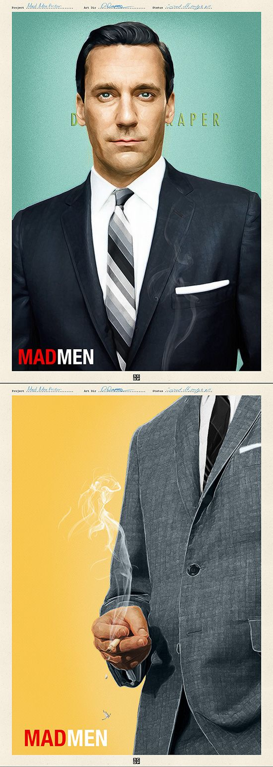 Mad Men Poster Set 1 by Doaly