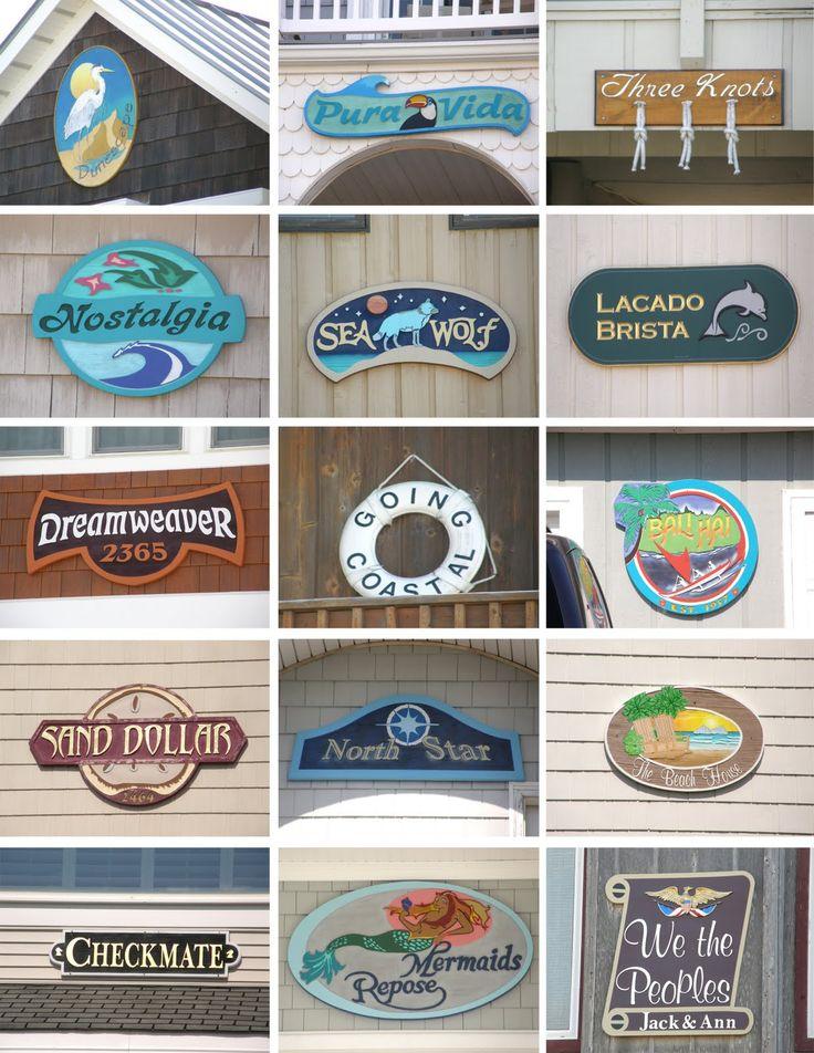 Parasta Ideaa Pinterestissä Beach House Names Rantahuvila - Beach house name ideas