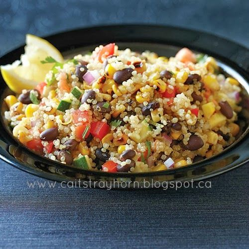Cait Strayhorn: Southwest Quinoa Salad | New Side Dish Recipes To Try ...