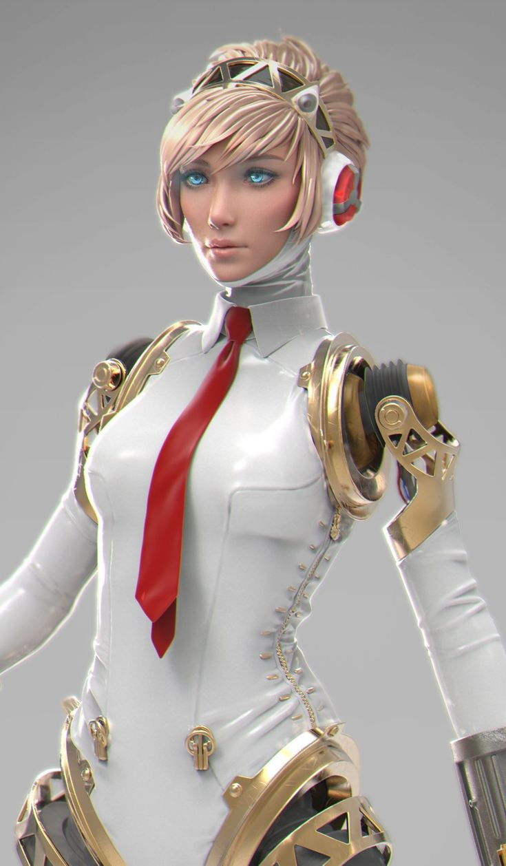 ArtStation - Aigis test, Blair Armitage