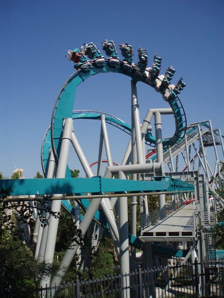Dueling Dragons: Ice Dragon coaster | Legends | Pinterest ...
