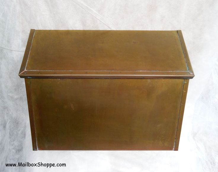 Mailbox Shoppe -Antique Brass Wall Mount Mailboxes