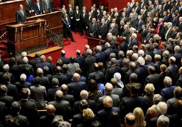 "KRADIARIO: HOLLANDE-DISCURSO EN VERSALLES:  ""FRANCIA ESTÁ EN ..."