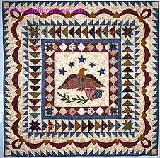 American Eagle Medallion quilt