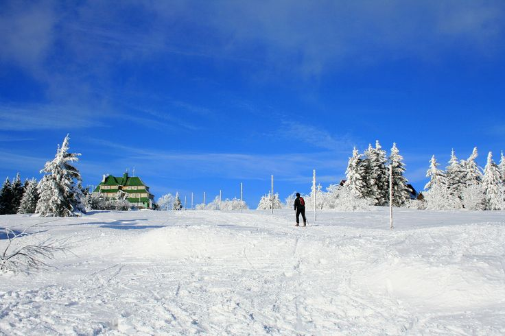 Nord skiing in Orlicke mountains