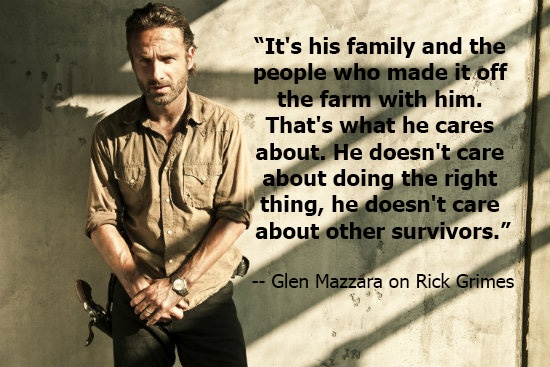 #TWD: Glen Mazzara talks Rick's new outlook and what happened in the prison
