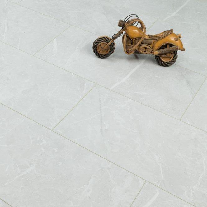 Elite Stone 8mm Tile Effect Laminate White Granite Tile Effect Laminate White Granite White Laminate Flooring