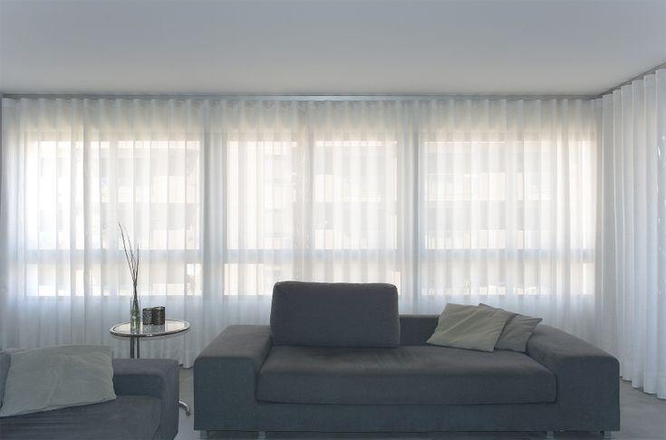 98 best images about nuestros trabajos clientes contentos - Cortinas salon moderno ...