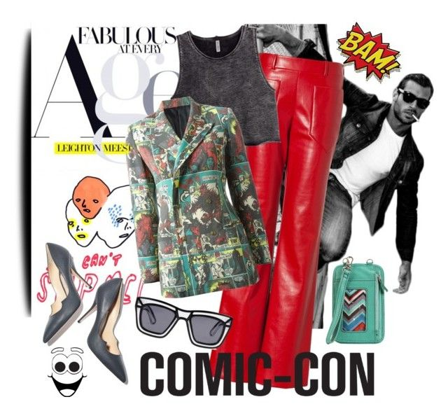 """Weekend at Comic-Con"" by edita1 on Polyvore"