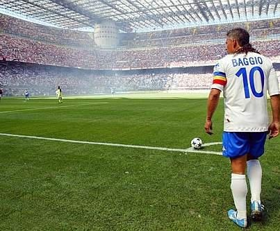 Italy's Roberto Baggio