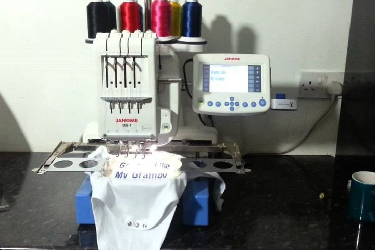 Janome Embroidery Machines produce professional quality embroidery designs at a price that's suitable for a commercial grade device.