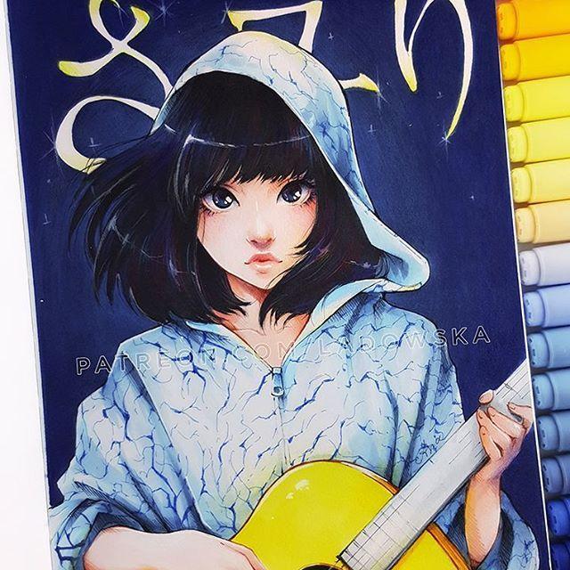 さュり (Sayuri) inspired by CD cover photo * Sayuri - zainspirowane okladka z jej plyty :) _ patreon.com/Ladowska