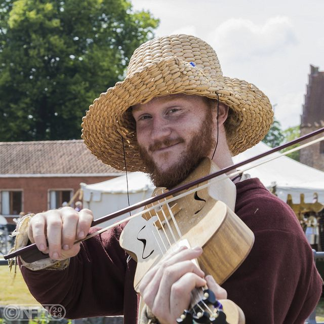 """The Fiddler"" from a renaissance faire we have twice a year here in town (Nyborg, Denmark)"