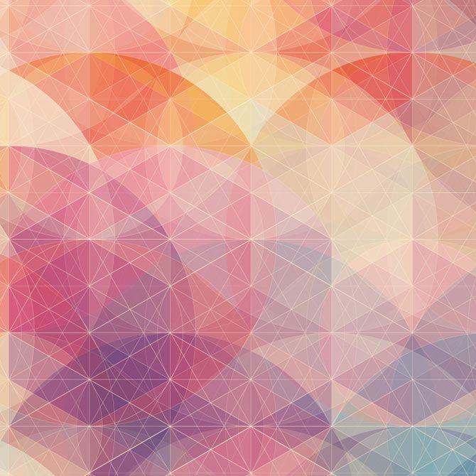 Cool geometric artwork by Simon C Page Art & Design