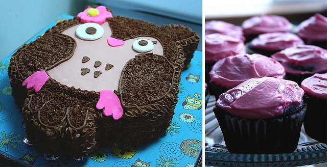 cake and cupcakes by jodee_p83, via Flickr