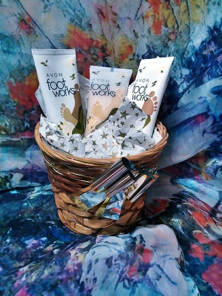 84 best avon gift basket ideas images on pinterest gifts avon avon footworks 3 piece ginger white tea gift basket avon negle Images