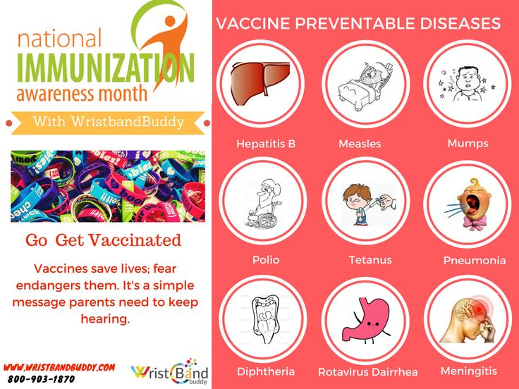On this August, National Immunization #Awareness Month, #Wristbandbuddy goal is to aware people about the importance of being vaccinated.