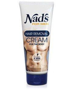 No fuzz!   Testpiloterna  Recension av Nad's for Men Hair Removal Cream