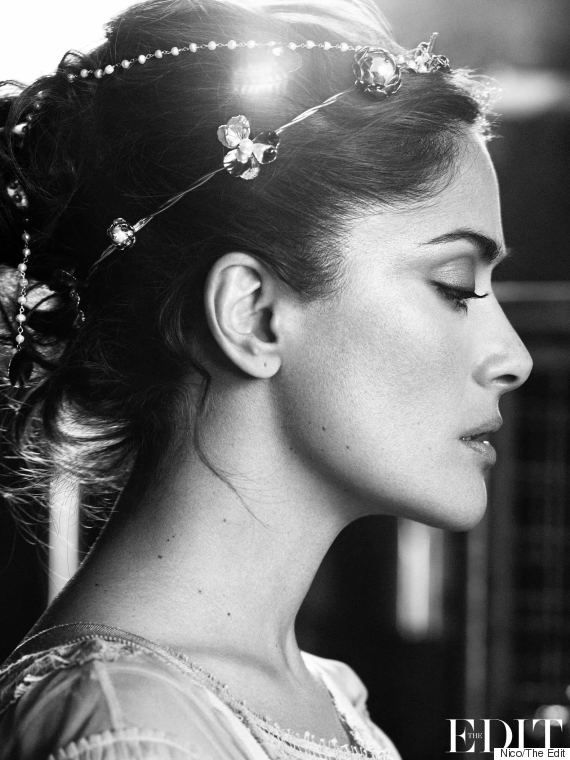 Salma Hayek Talks Body Image In Hollywood And Feeling Great At 48