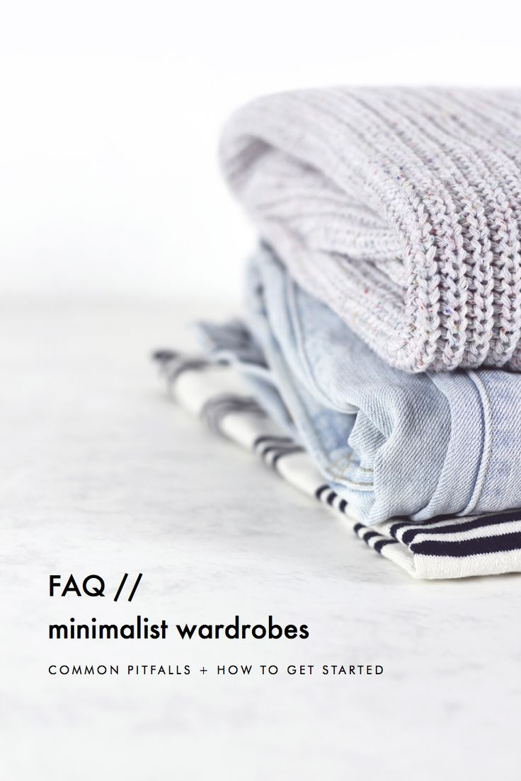 Minimalist wardrobe FAQ: Common pitfalls + how to get started