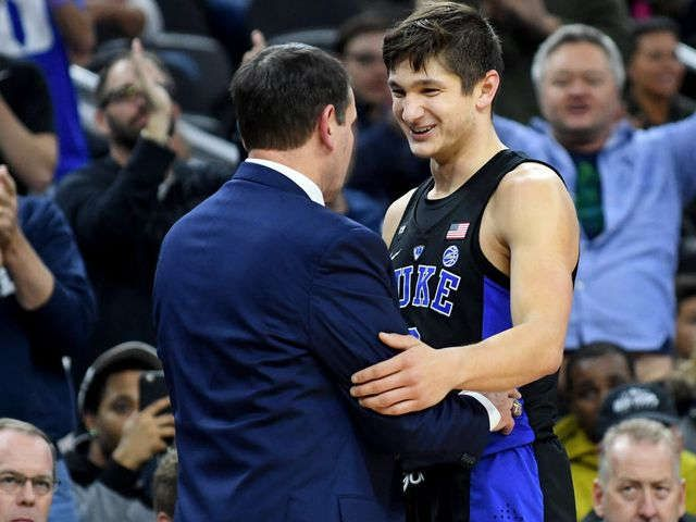 Behind Grayson Allen's career day, No. 4 Duke routs UNLV