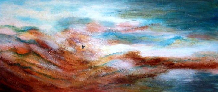 1000 images about schilderij landschap painting for Schilderij zeezicht