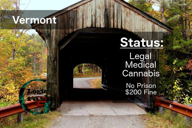 Check out the legal status of marijuana in Vermont #marijuanalegalization #cannabiscommunity