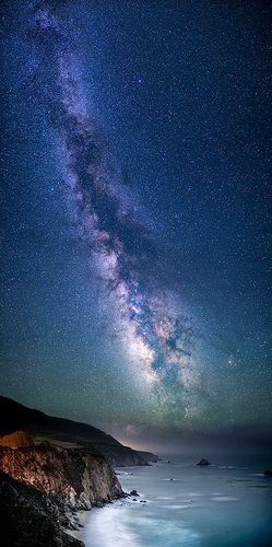 ~~Galaxy Coast ~ Milky Way, Notleys Landing, California by Bill Shupp~~