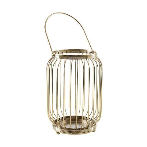 Brass Finish Lantern