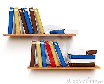 Books on the shelf by Loopall, via Dreamstime