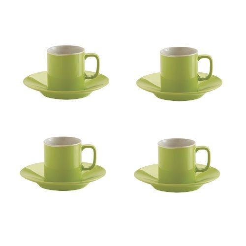 Creating A Colour Theme In Your Kitchen Takes Dedication That Means Including Green Espresso Cups