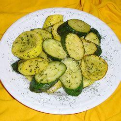 Dill and Butter Squash Allrecipes.com