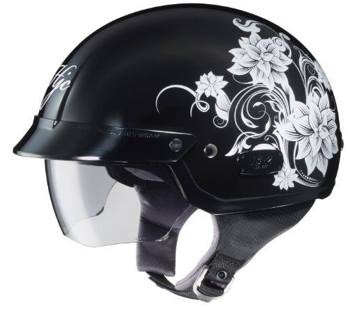 HJC IS2 Blossom Motorcycle HalfHelmet MC5 Small >>> You can get additional details at the image link-affiliate link. #AutomotiveDeals
