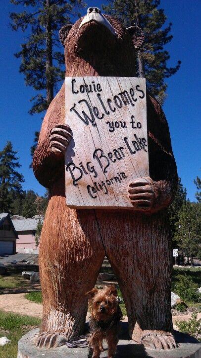 Henry vacations in Big Bear, CA.