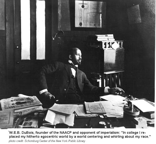 "As remarked once by Martin Luther King Jr. ""history cannot ignore W.E.B. DuBois because history has to reflect truth and Dr. DuBois was a t..."
