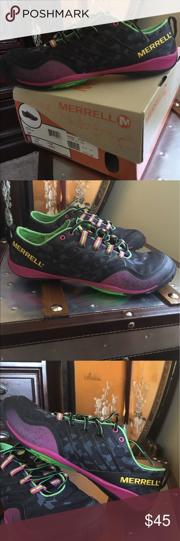 Never worn Merrill women's shoe! Love Merrill's! Super comfortable perfect for running around, going to the gym to rock climbing! merrills Shoes Sneakers