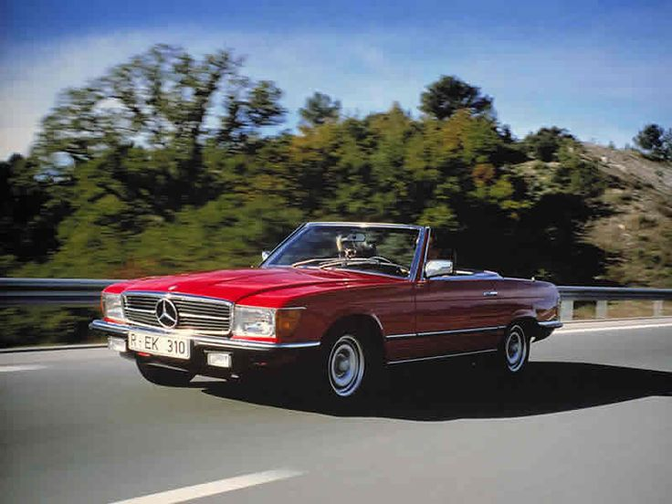 Mercedes Classic Convertible.. Bobby Ewings Car In Dallas