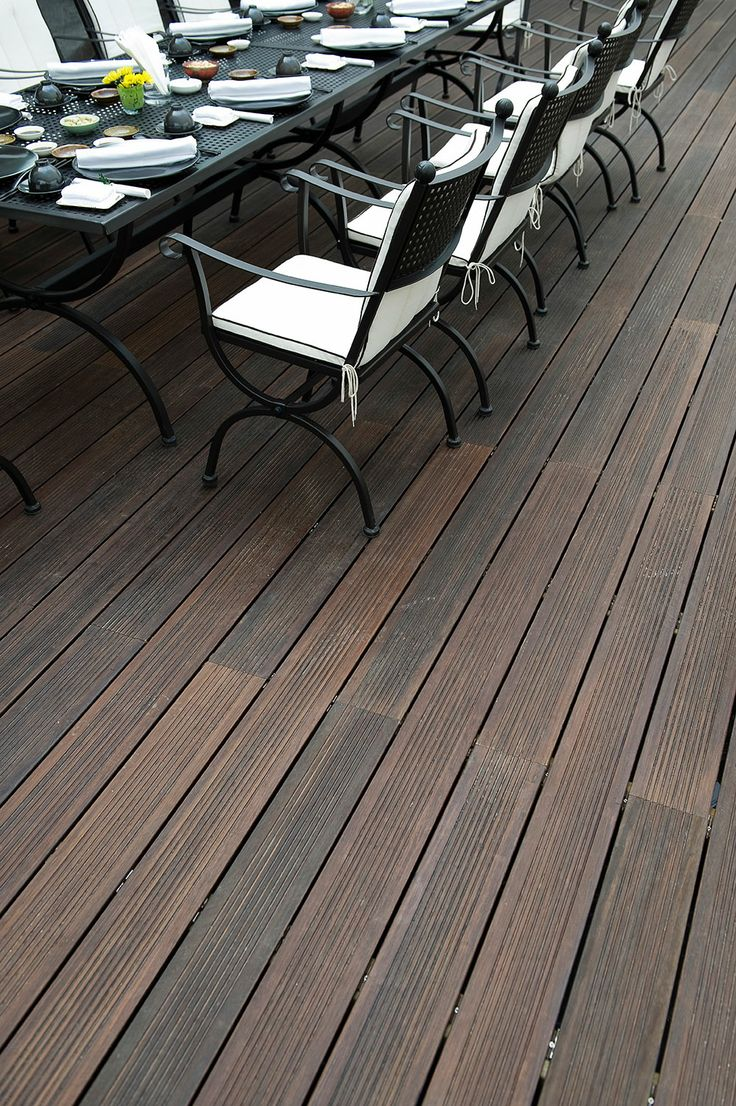 Bamboo decking from dasso.XTR