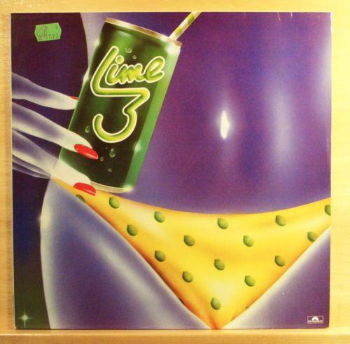 LIME - Lime 3 - mint minus - Vinyl LP - Italo Disco Pop - Top Rare
