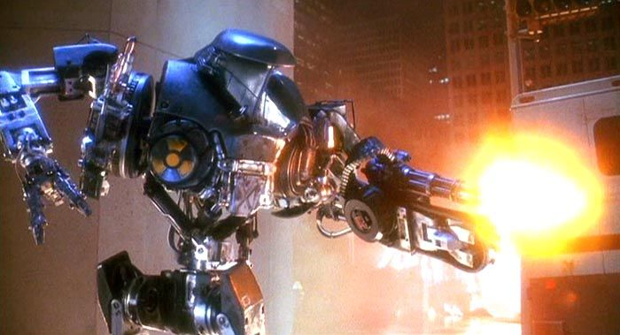 The Coolest and Most Baddass Robot ever created