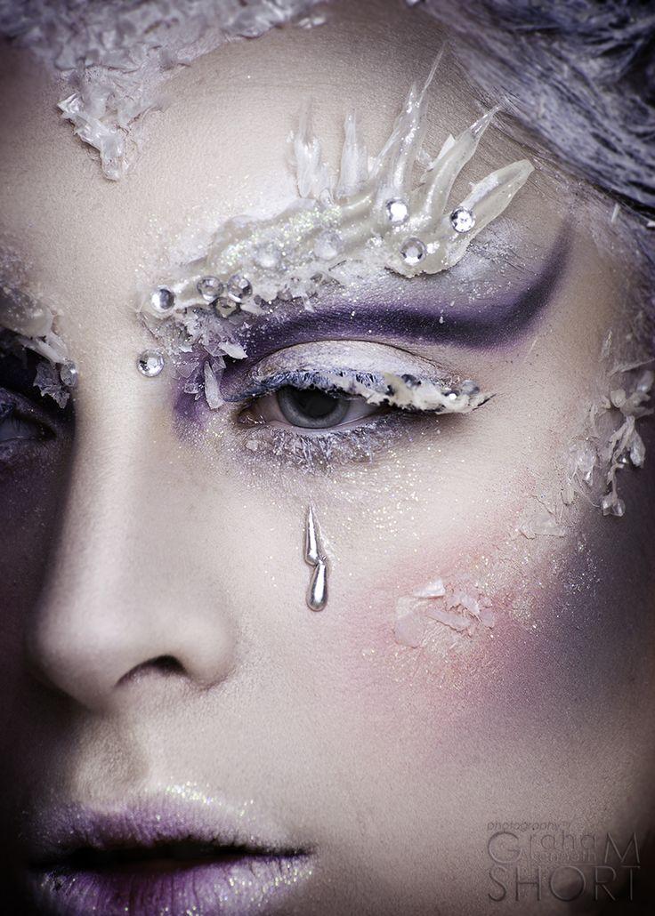 Зимний макияж. Мои любимые арт-образы