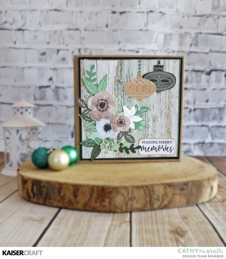Christmas Envelope Mini Album Tutorial - Kaisercraft Official Blog